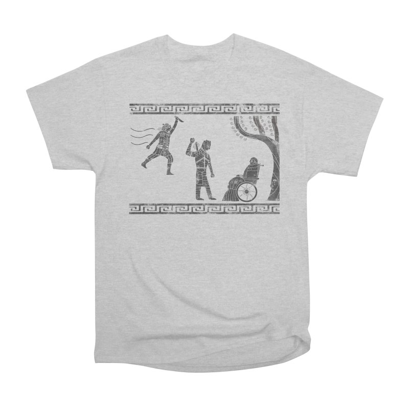 The Tragedy of the Night King Women's Heavyweight Unisex T-Shirt by coyotealert