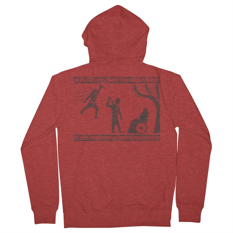 The Tragedy of the Night King Women's French Terry Zip-Up Hoody by coyotealert