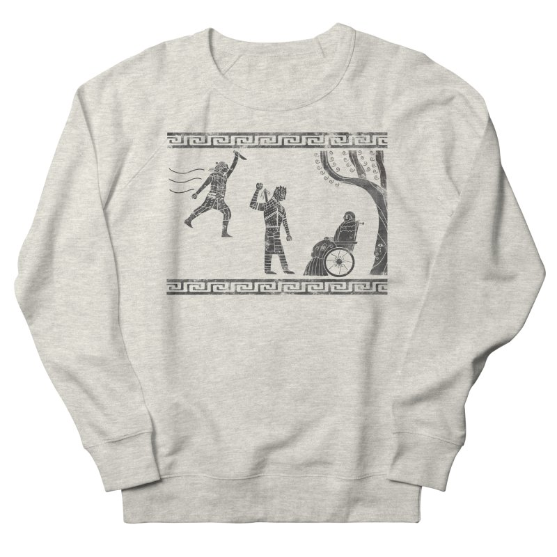 The Tragedy of the Night King Women's French Terry Sweatshirt by coyotealert