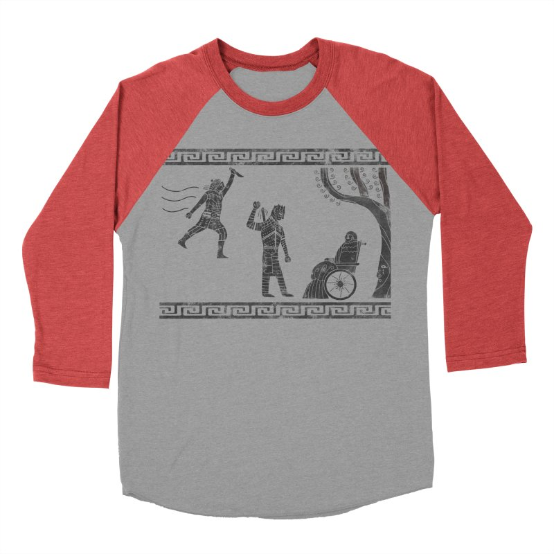 The Tragedy of the Night King Women's Baseball Triblend Longsleeve T-Shirt by coyotealert
