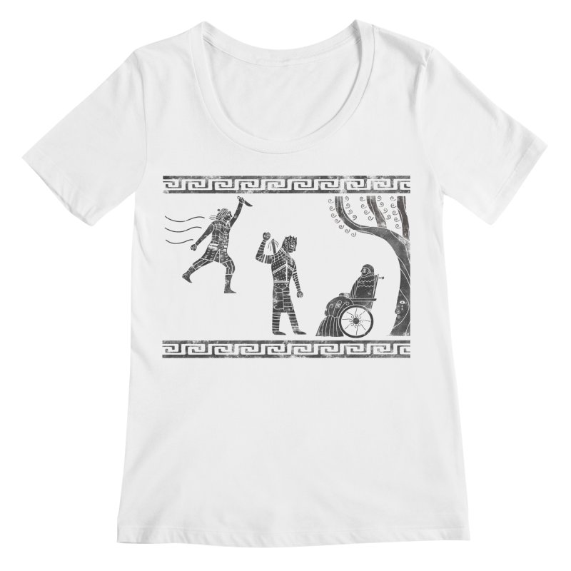 The Tragedy of the Night King Women's Regular Scoop Neck by coyotealert