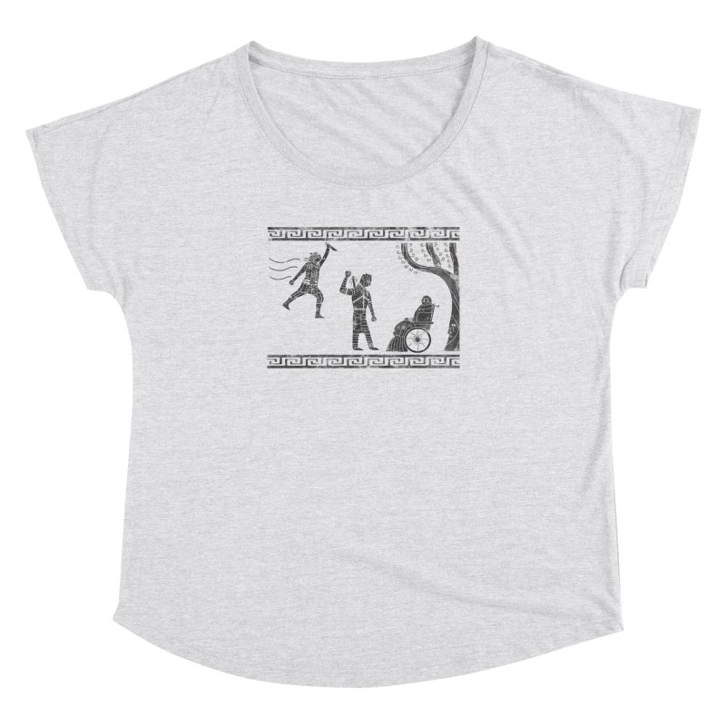 The Tragedy of the Night King Women's Dolman Scoop Neck by coyotealert