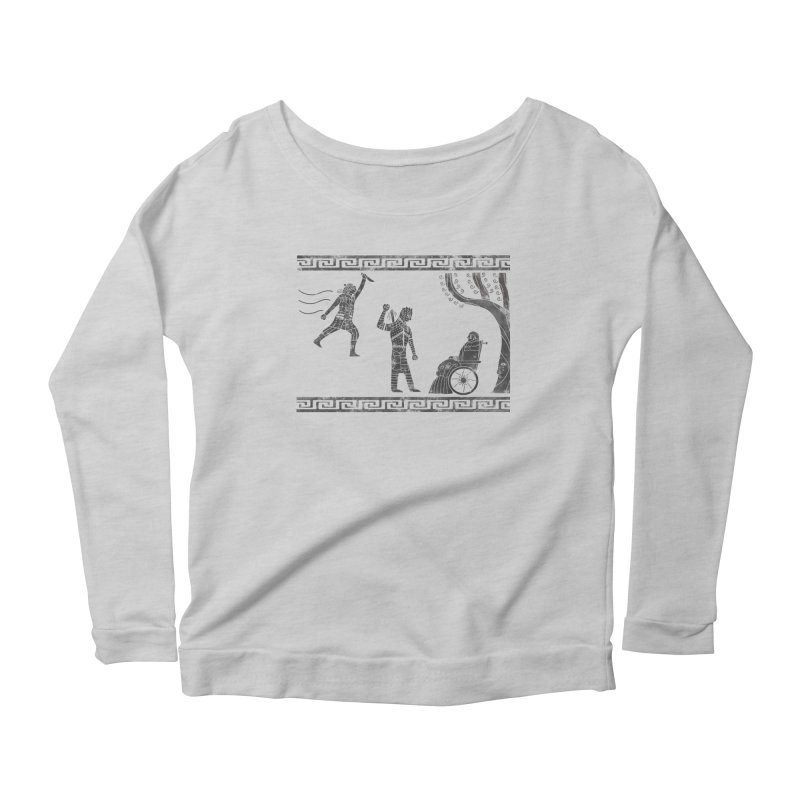 The Tragedy of the Night King Women's Scoop Neck Longsleeve T-Shirt by coyotealert