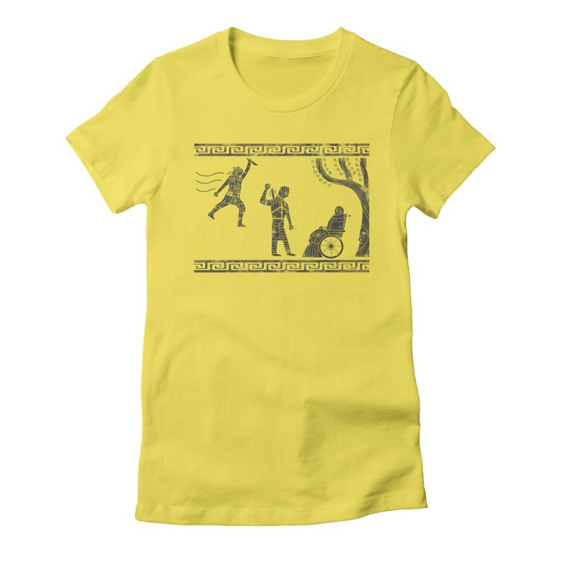 The Tragedy of the Night King Women's Fitted T-Shirt by coyotealert