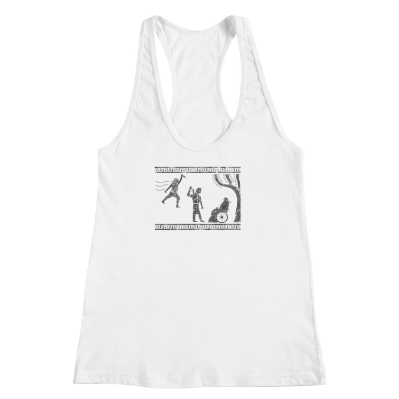 The Tragedy of the Night King Women's Racerback Tank by coyotealert
