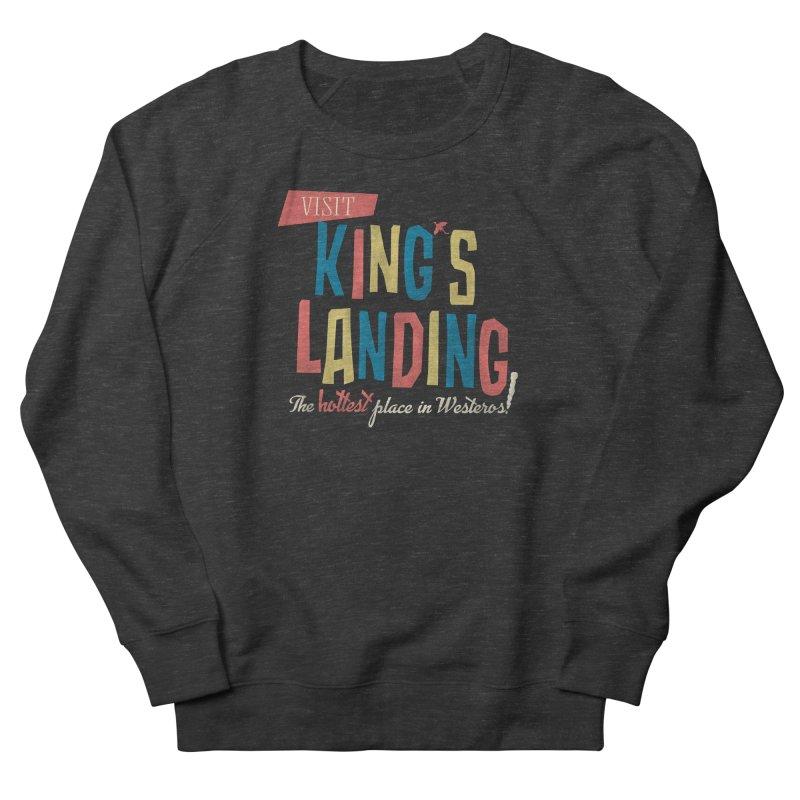 Visit King's Landing Women's French Terry Sweatshirt by coyotealert