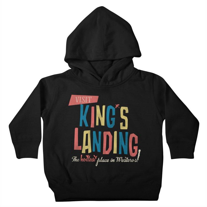 Visit King's Landing Kids Toddler Pullover Hoody by coyotealert