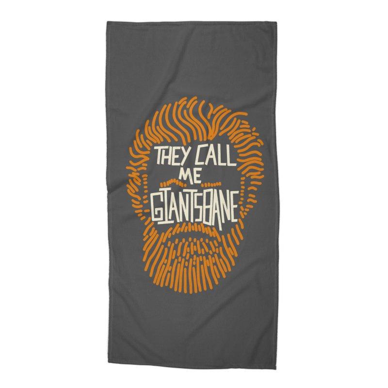 Giantsbane Accessories Beach Towel by coyotealert