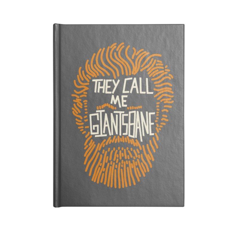 Giantsbane Accessories Notebook by coyotealert