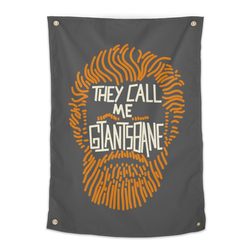 Giantsbane Home Tapestry by coyotealert