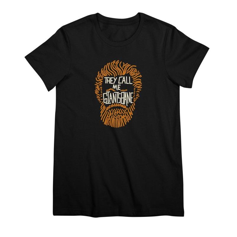 Giantsbane Women's Premium T-Shirt by coyotealert