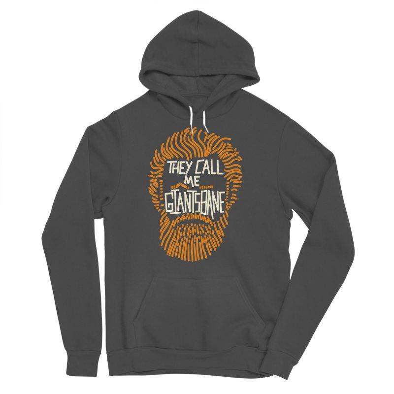 Giantsbane Men's Sponge Fleece Pullover Hoody by coyotealert