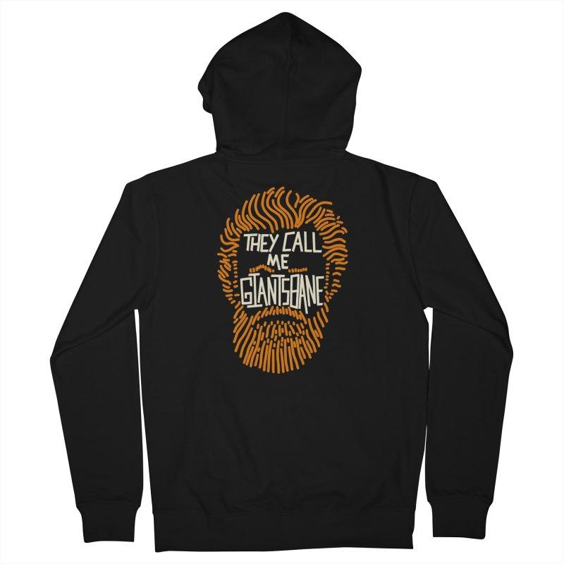 Giantsbane Men's Zip-Up Hoody by coyotealert