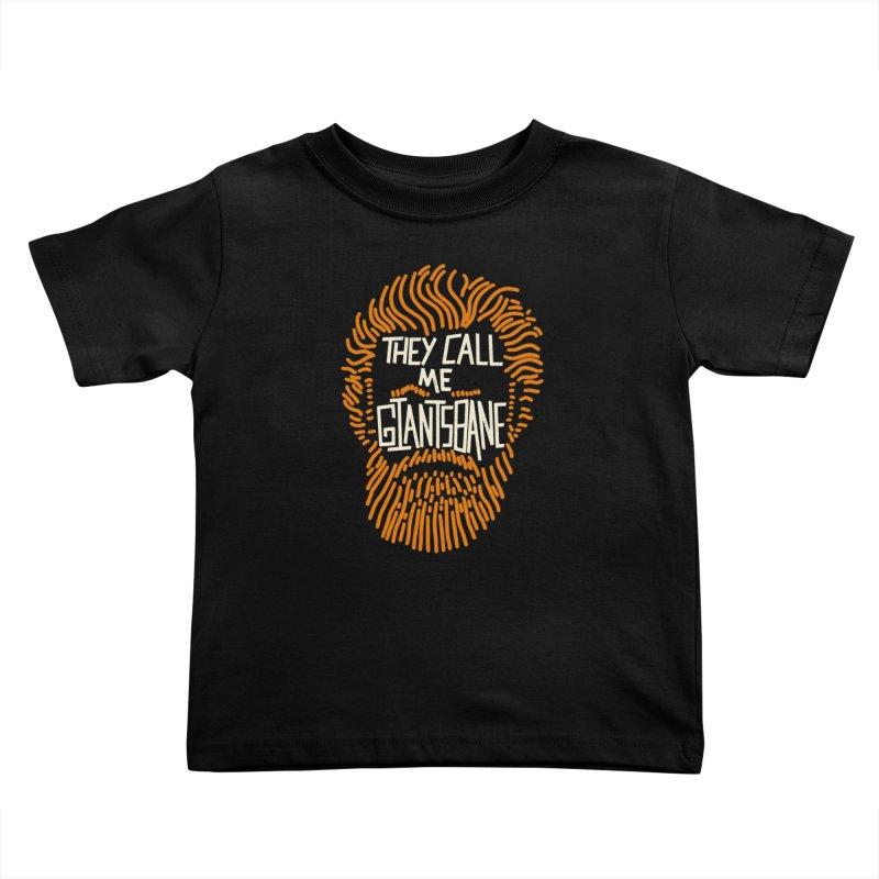 Giantsbane Kids Toddler T-Shirt by coyotealert