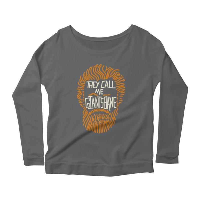 Giantsbane Women's Scoop Neck Longsleeve T-Shirt by coyotealert