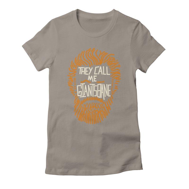 Giantsbane Women's Fitted T-Shirt by coyotealert