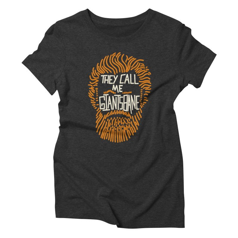 Giantsbane Women's Triblend T-Shirt by coyotealert
