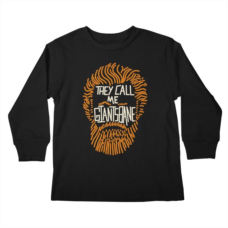 Giantsbane Kids Longsleeve T-Shirt by coyotealert