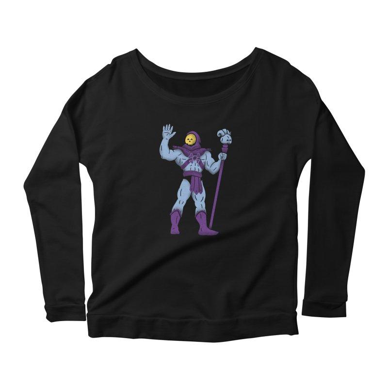 Swelletor Women's Scoop Neck Longsleeve T-Shirt by coyotealert