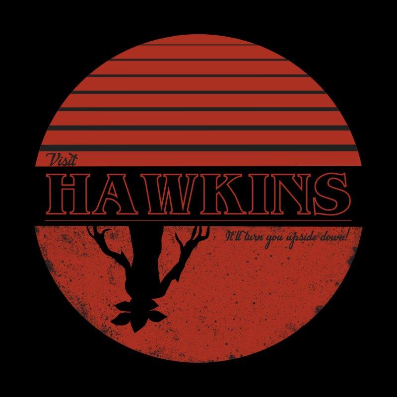 Visit Hawkins Men's T-Shirt by coyotealert