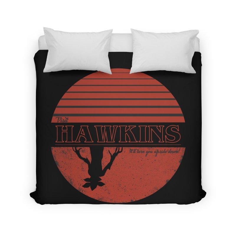 Visit Hawkins Home Duvet by coyotealert