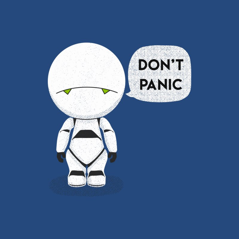 Don't Panic Accessories Sticker by coyotealert