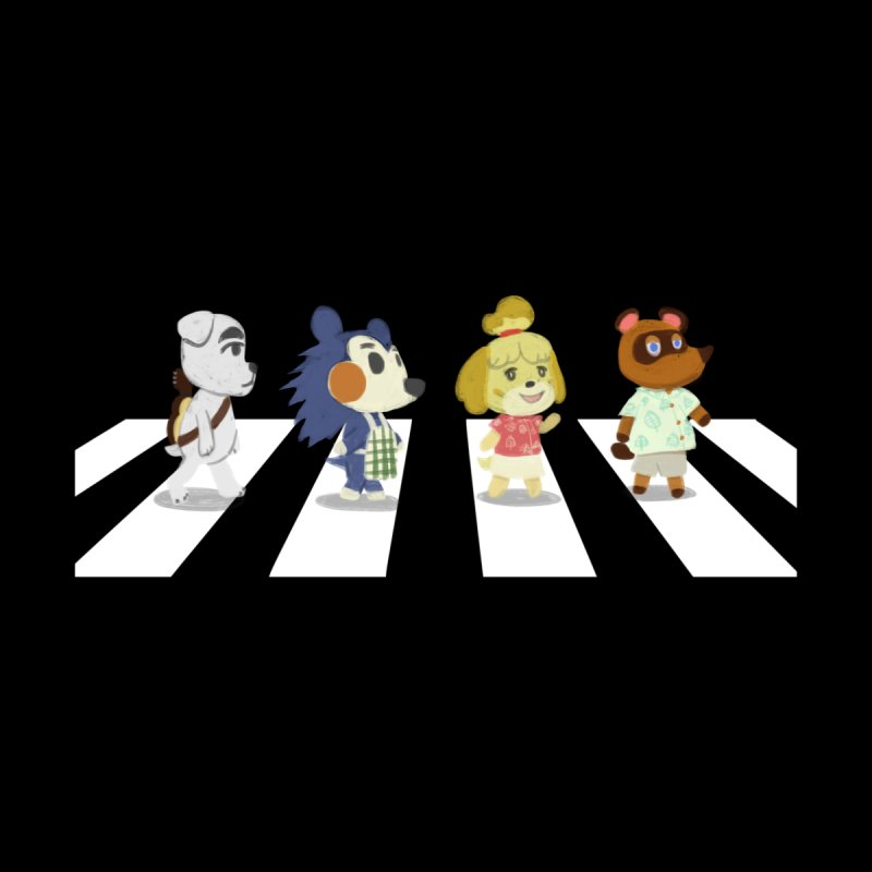 Animals Crossing Home Bath Mat by coyotealert
