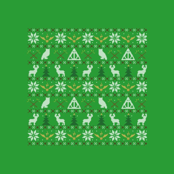 image for Happy Christmas Sweater (green)