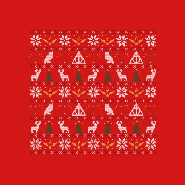 image for Happy Christmas Sweater (Red)