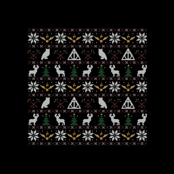 image for Happy Christmas Sweater (Black)