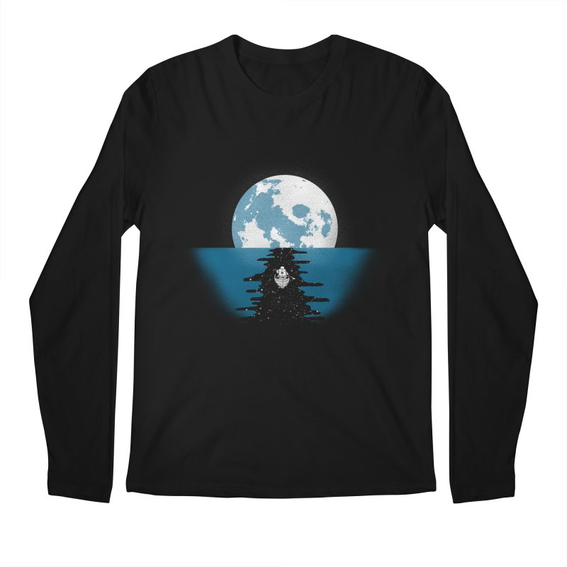 Endless Journey Men's Longsleeve T-Shirt by coyotealert