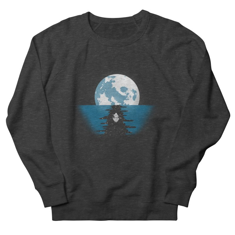 Endless Journey Men's French Terry Sweatshirt by coyotealert