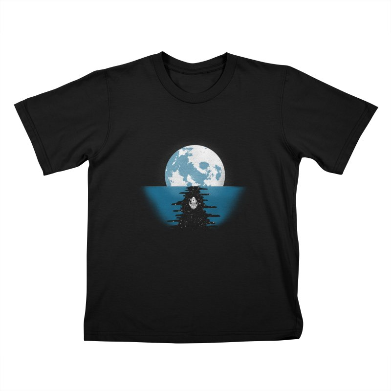 Endless Journey Kids T-Shirt by coyotealert