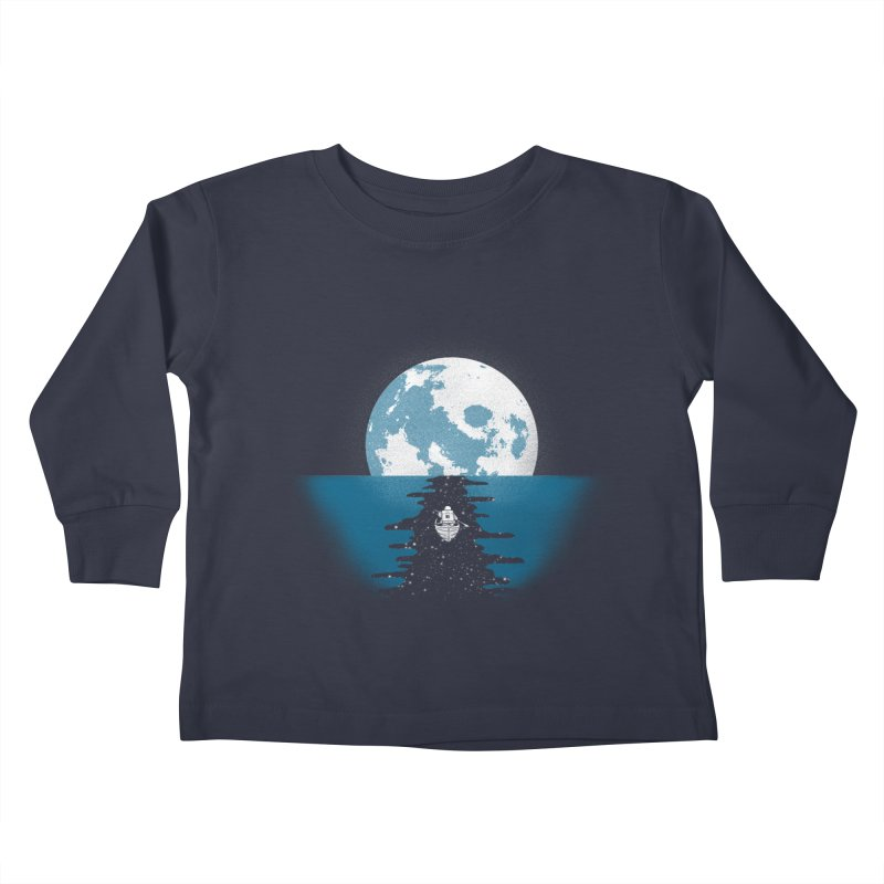 Endless Journey Kids Toddler Longsleeve T-Shirt by coyotealert