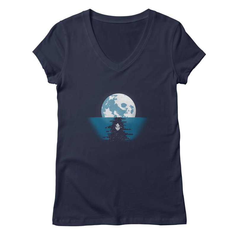 Endless Journey Women's Regular V-Neck by coyotealert