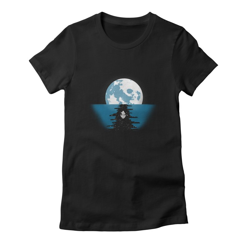 Endless Journey Women's Fitted T-Shirt by coyotealert