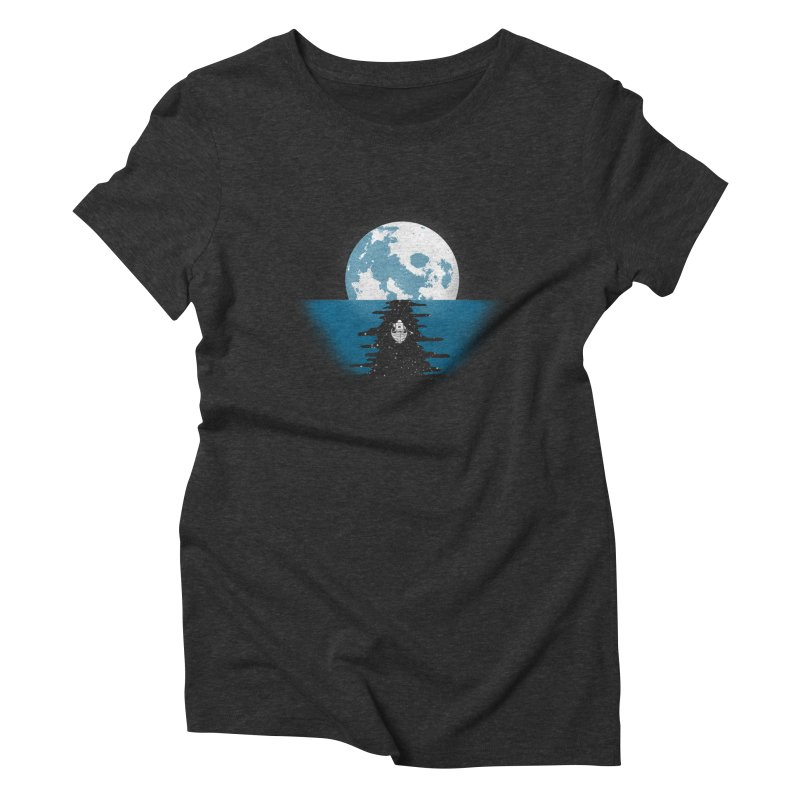 Endless Journey Women's Triblend T-shirt by coyotealert
