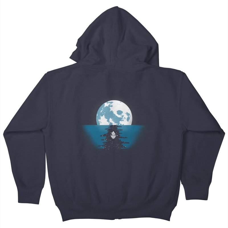 Endless Journey Kids Zip-Up Hoody by coyotealert