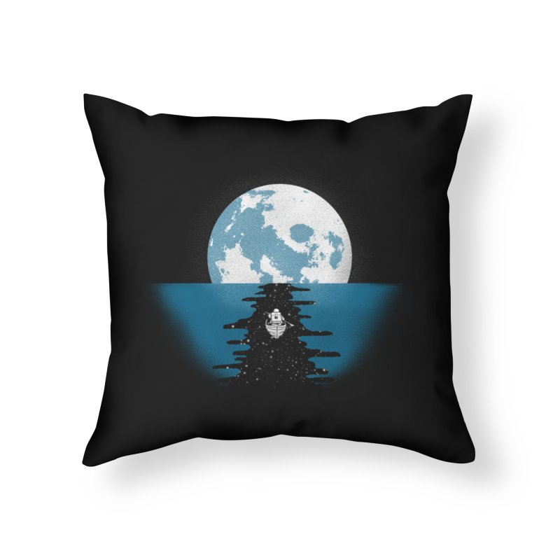 Endless Journey Home Throw Pillow by coyotealert