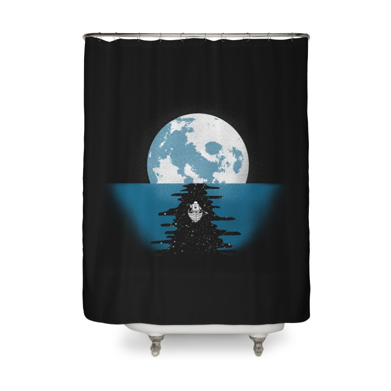Endless Journey Home Shower Curtain by coyotealert