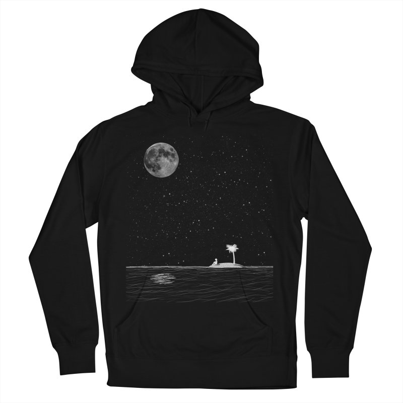 I Think Better When I'm Alone Women's French Terry Pullover Hoody by coyotealert