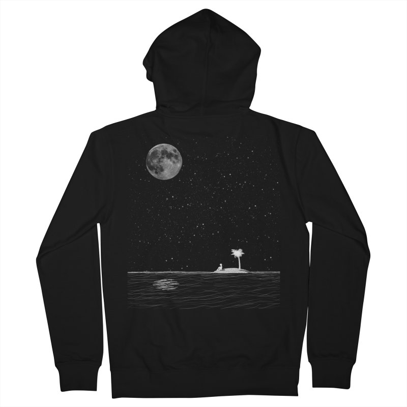I Think Better When I'm Alone Women's French Terry Zip-Up Hoody by coyotealert