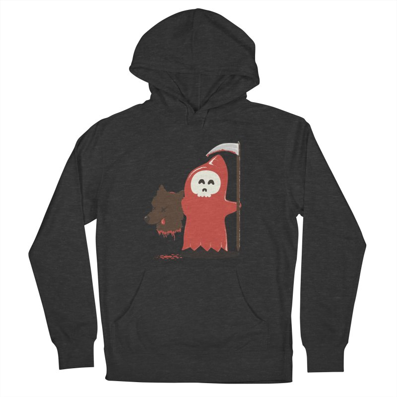 Little Death Riding Hood Men's Pullover Hoody by coyotealert