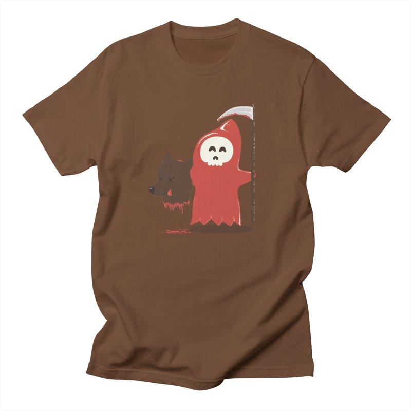 Little Death Riding Hood Women's Regular Unisex T-Shirt by coyotealert
