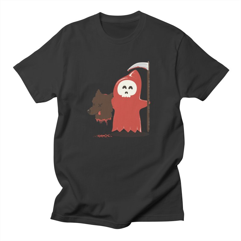Little Death Riding Hood Men's T-shirt by coyotealert