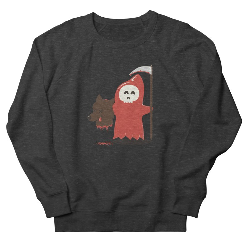 Little Death Riding Hood Men's French Terry Sweatshirt by coyotealert