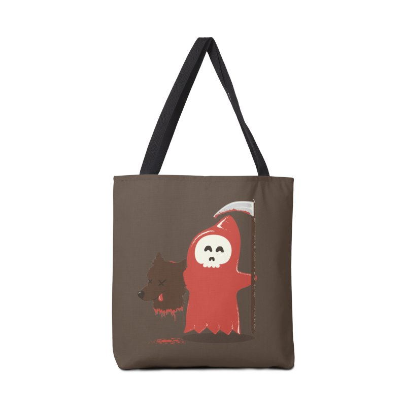 Little Death Riding Hood Accessories Bag by coyotealert
