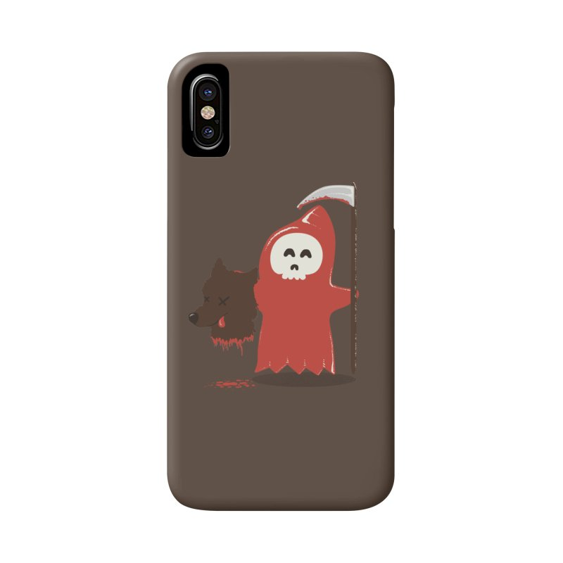 Little Death Riding Hood Accessories Phone Case by coyotealert