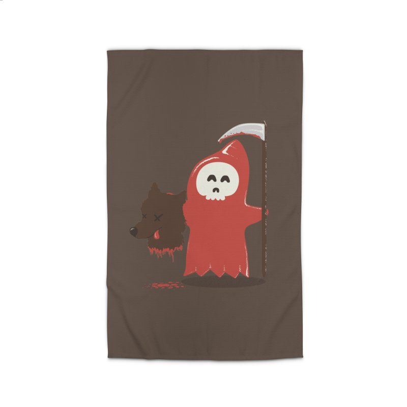 Little Death Riding Hood Home Rug by coyotealert