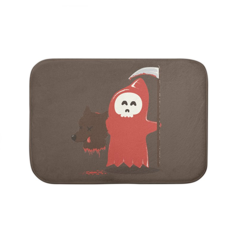 Little Death Riding Hood Home Bath Mat by coyotealert